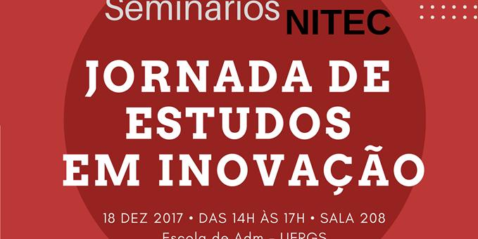 Seminários NITEC: Jornada de Estudos em Inovação