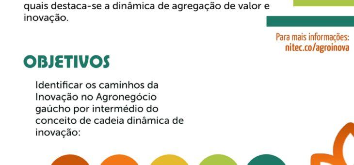 Folheto do Projeto AgroInova